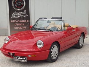 Picture of 1991 ALFA ROMEO SPIDER 2.0IE HARD TOP -SERIVICE BOOK - ASI - For Sale