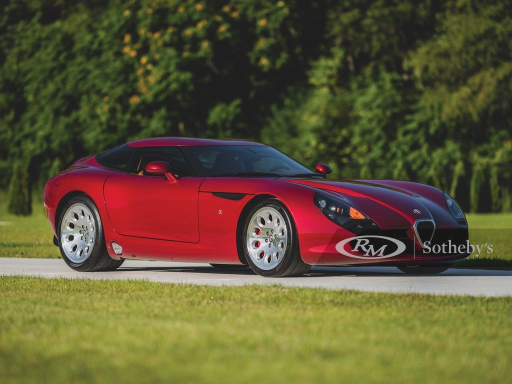 2010 Alfa Romeo TZ3 Stradale Zagato For Sale by Auction (picture 1 of 6)