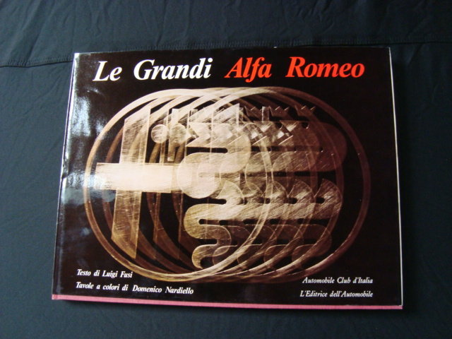 1969 Le Grandi Alfa Romeo book For Sale (picture 1 of 5)