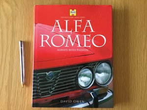 Alfa Romeo always with passion book