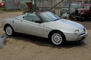 1997 ALFA ROMEO SPIDER T SPARK 16 V WITH MOT CHEAP CAR