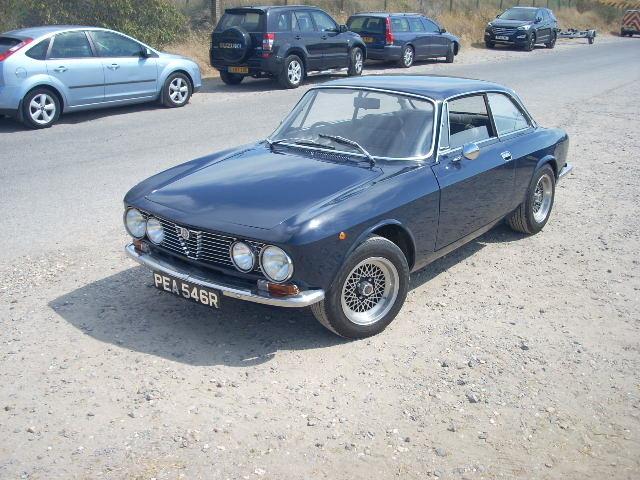 1976 ALFA ROMEO gt junior 1600 dutch blu Reduced £18500 For Sale (picture 2 of 6)