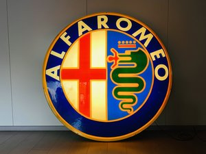 Alfa Romeo Illuminated Sign EXTRALARGE