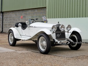 1930 Alfa Romeo 6C 1750 Grand Sport Spider in the style of Z