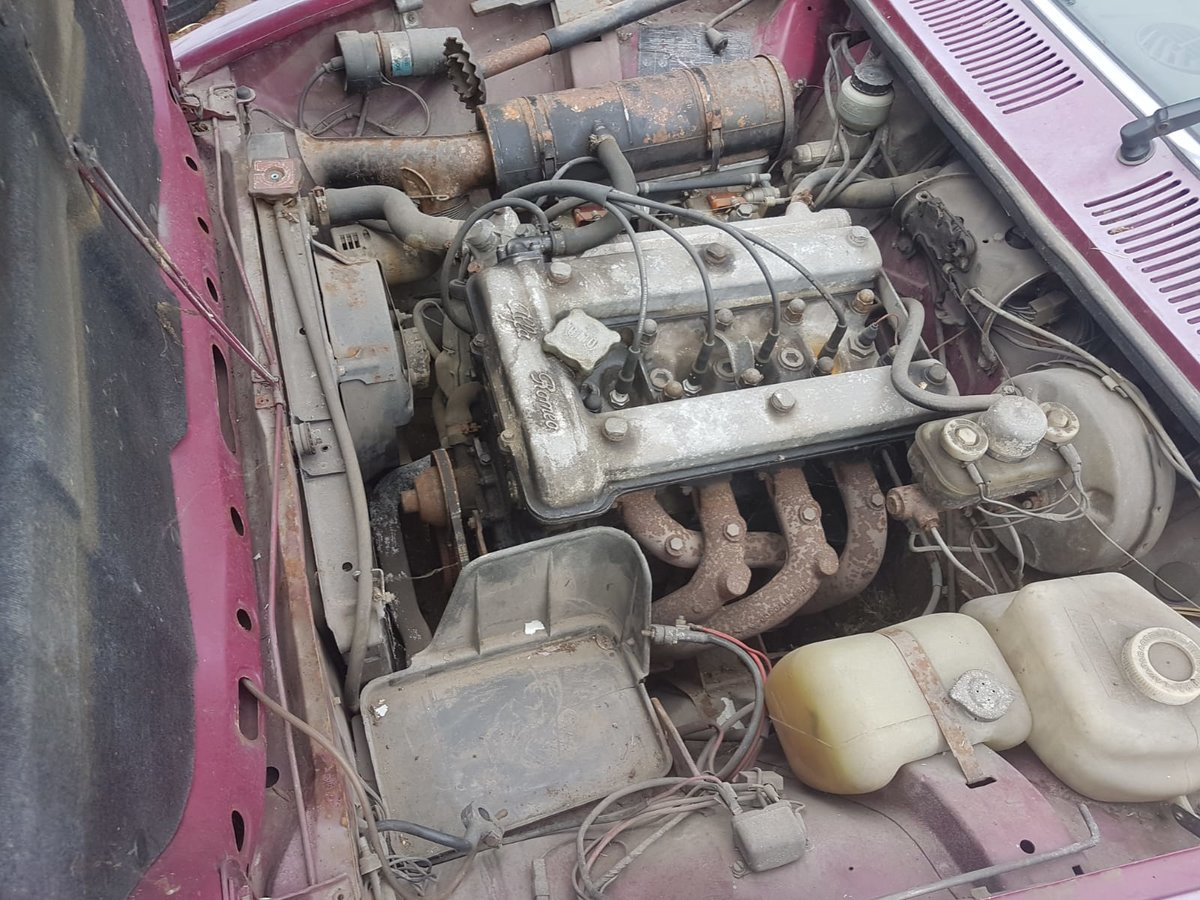 1975 Alfa Romeo Alfetta 1.8 RHD runs very solid For Sale (picture 2 of 6)