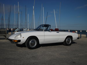 Alfa Romeo Spider Series 2 1750 Right Hand Drive.