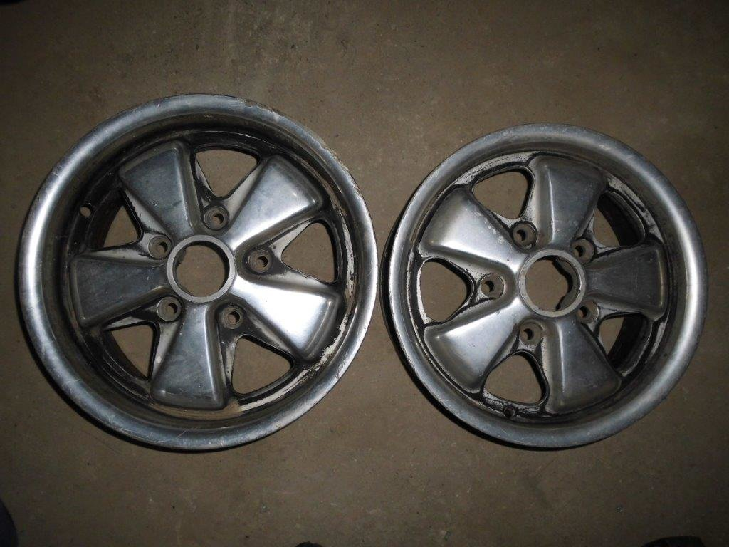 PORSCHE old type FUCHS Wheels & 914 Parts For Sale (picture 1 of 2)