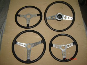 Nice Collection of Beautiful Old STEERING WHEELS