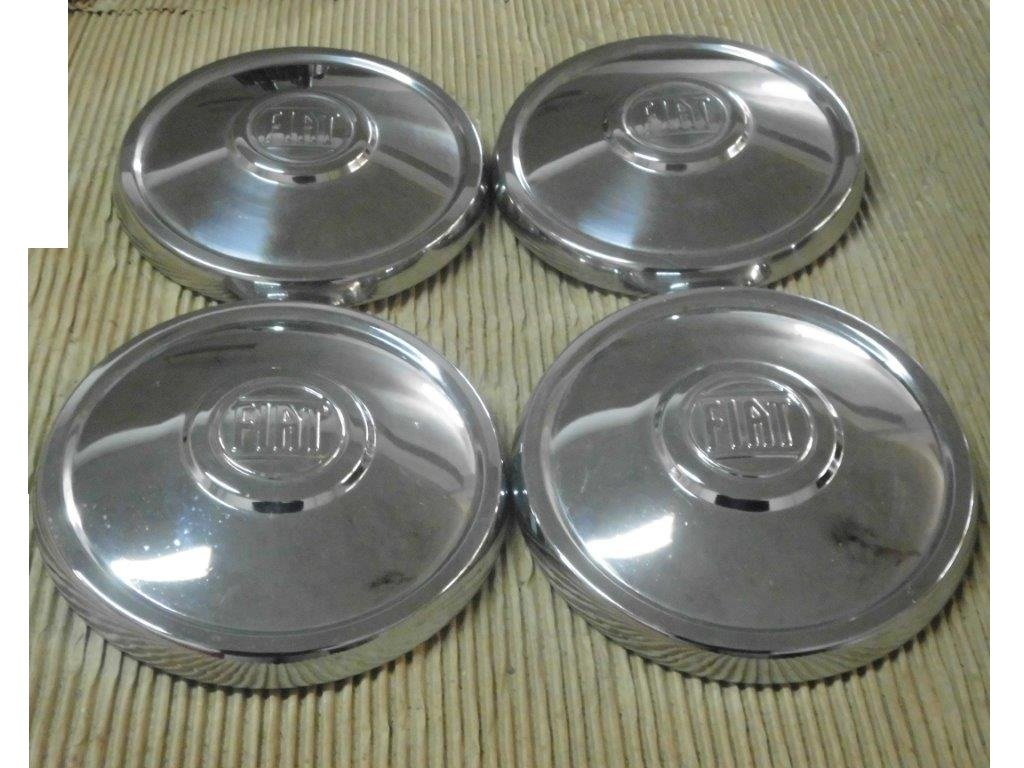 Fiat Hubcaps, DINO, 130, 2300 S, 500, 850, 124.... For Sale (picture 2 of 6)