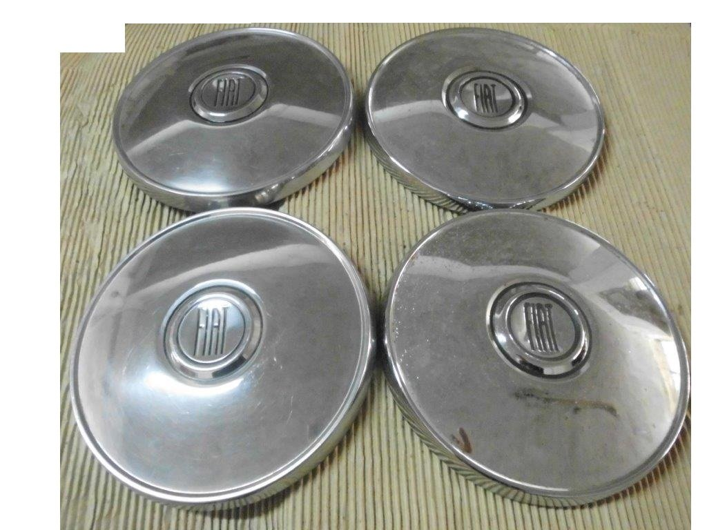 Fiat Hubcaps, DINO, 130, 2300 S, 500, 850, 124.... For Sale (picture 3 of 6)