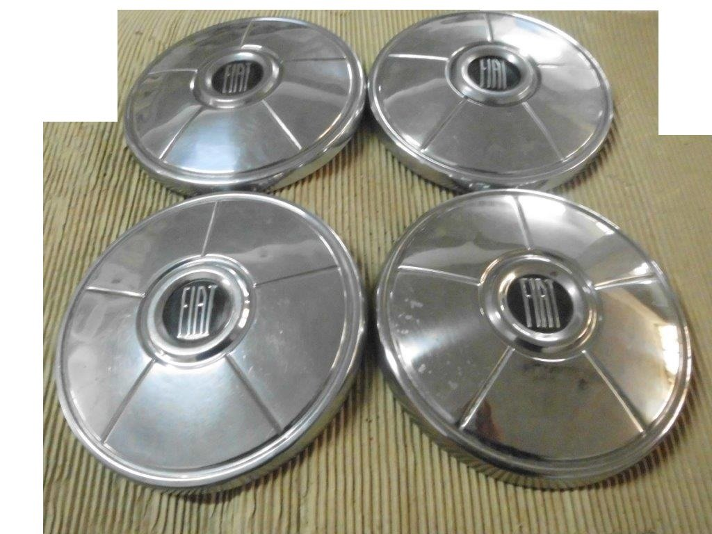 Fiat Hubcaps, DINO, 130, 2300 S, 500, 850, 124.... For Sale (picture 4 of 6)