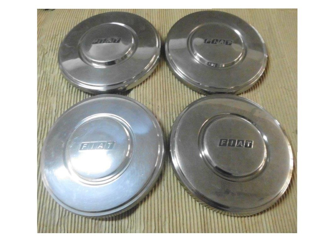 Fiat Hubcaps, DINO, 130, 2300 S, 500, 850, 124.... For Sale (picture 5 of 6)