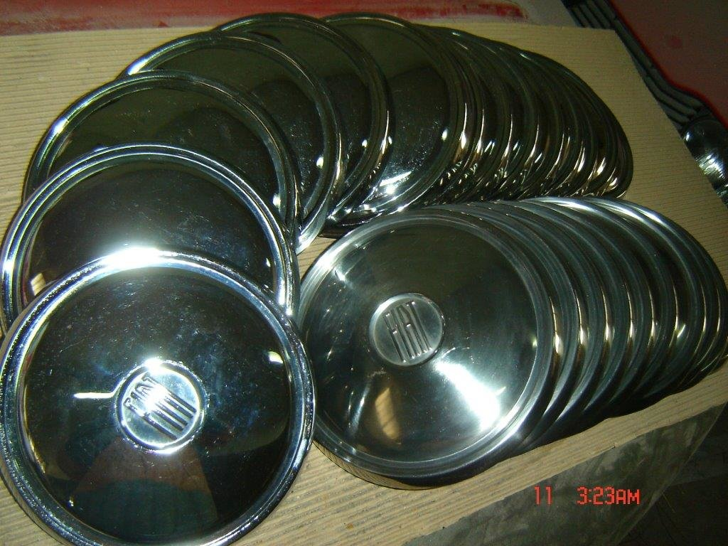 Fiat Hubcaps, DINO, 130, 2300 S, 500, 850, 124.... For Sale (picture 6 of 6)