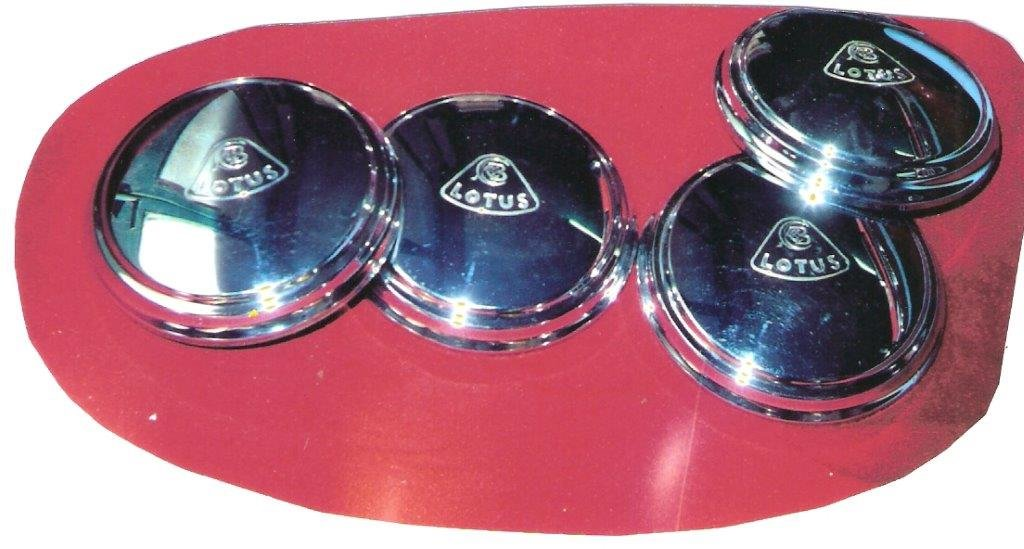 1963 LOTUS ELAN & EUROPA Brand New Hubcaps For Sale (picture 1 of 1)
