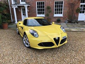 Alfa Romeo 4c like new 2000 miles