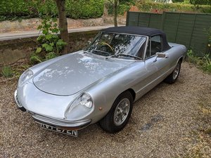 1975 Alfa Romeo Spider 2000 Veloce S2 at ACA 22nd August