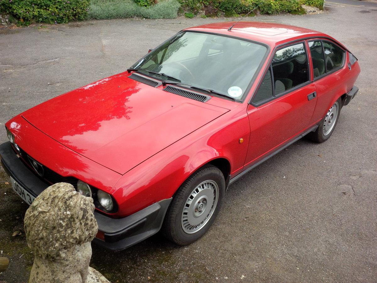 1982 Alfa Romeo Alfetta GTV SOLD (picture 1 of 3)