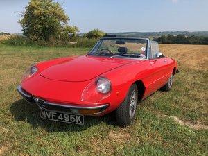 1972 Alfa Romeo 2000 Spider For Sale