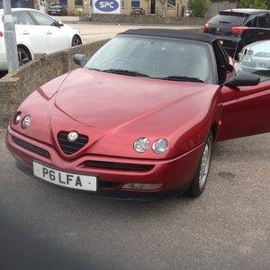 Alfa Romeo Spider 2.0L T. Spark.