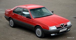 1991 Alfa Romeo 164 3.0 V6, time warp with only 26,600 km!