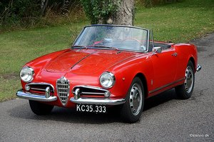 Picture of 1960 Alfa Romeo Giulietta Spider, immaculate For Sale