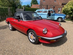 *REMAINS AVAILABLE - AUGUST AUCTION* 1986 Alfa Romeo Spyder For Sale by Auction