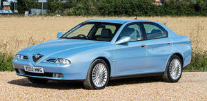 2002 Alfa Romeo 166 V6 Lusso 3.0 Sportronic For Sale by Auction