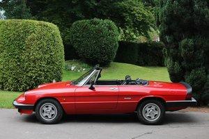 1985 ALFA ROMEO SPIDER 2000 For Sale