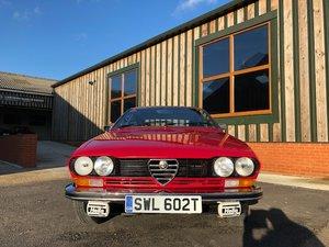 1979 Ultra-rare Alfetta GTS