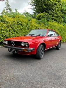 1981 Alfasud Sprint