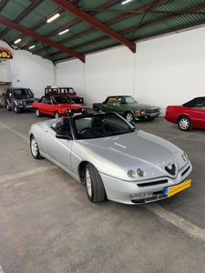 Picture of 2001 ALFA ROMEO SPYDER 17K MILES FOR AUCTION 31ST OCT
