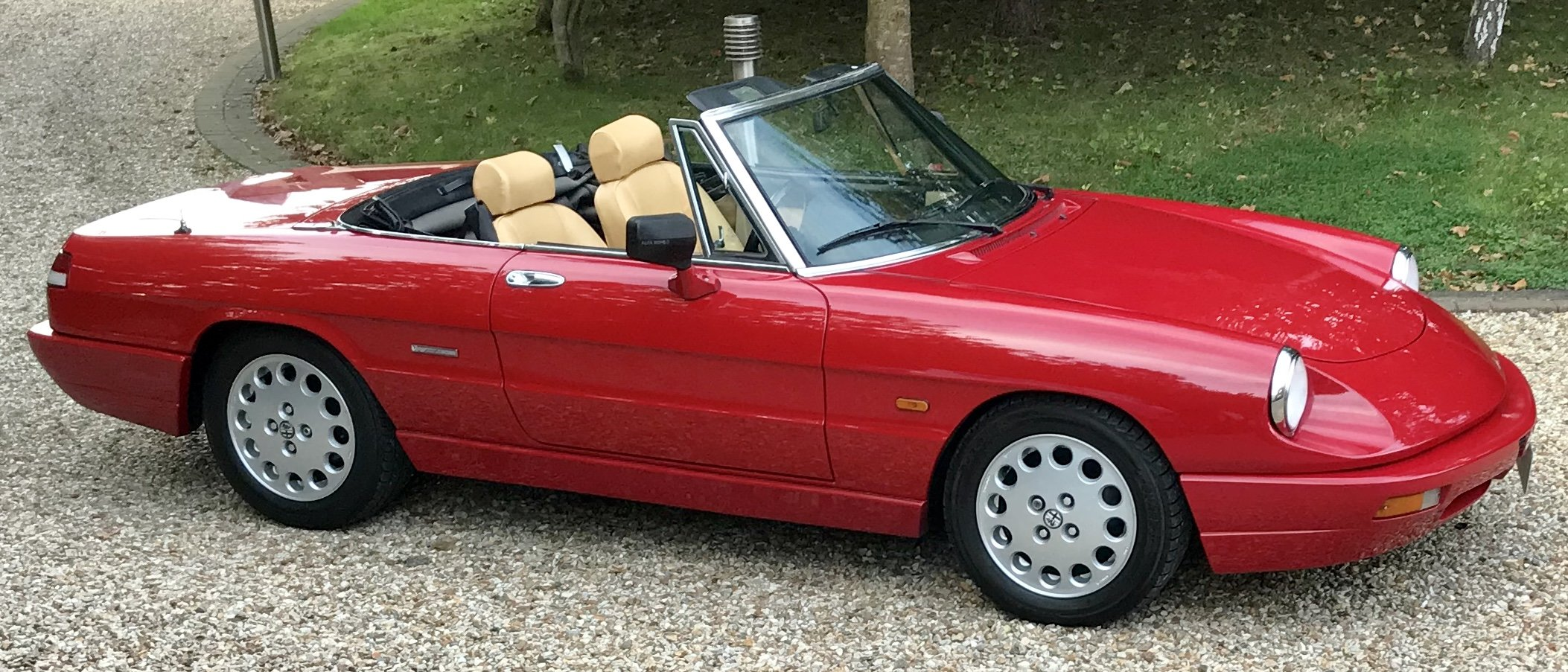 1990 Alfa Romeo Spider 2.0,  Stunning Car With Hard Top For Sale (picture 5 of 6)