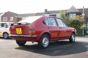 1980 Alfasud Super 1.2