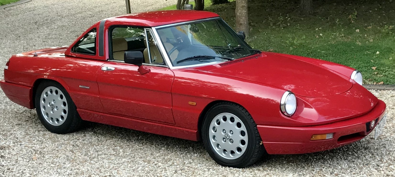 1990 Alfa Romeo Spider 2.0,  Stunning Car With Hard Top For Sale (picture 1 of 6)