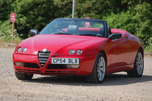 Alfa Romeo Spider Special Edition 916 JTS Phase 3