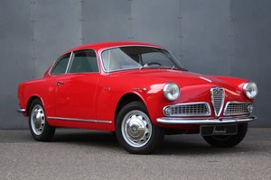 1958 Alfa Romeo Giulietta Sprint Serie II LHD