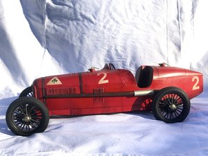 Alfa Romeo P2 toy race car. Born to be a legend