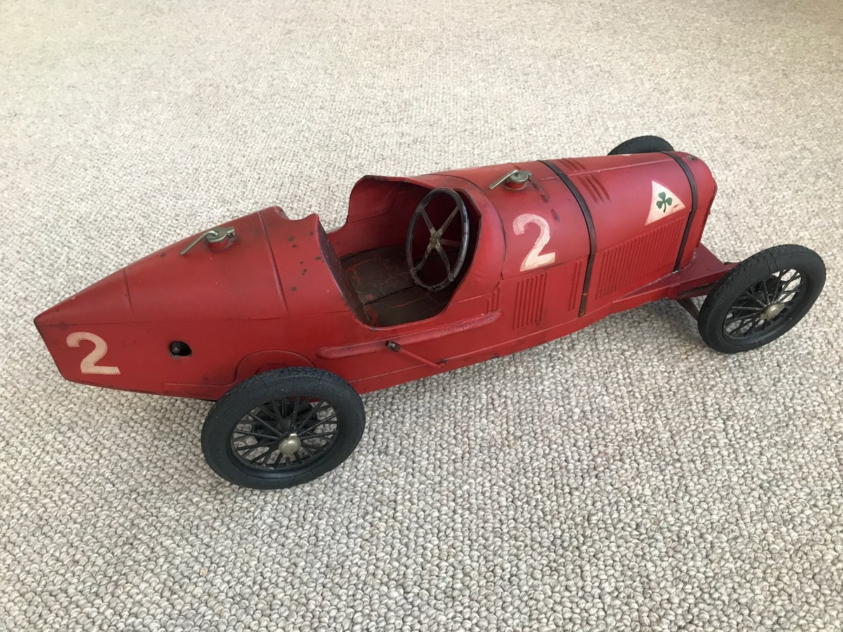 Alfa Romeo P2 toy race car. Born to be a legend For Sale (picture 3 of 6)