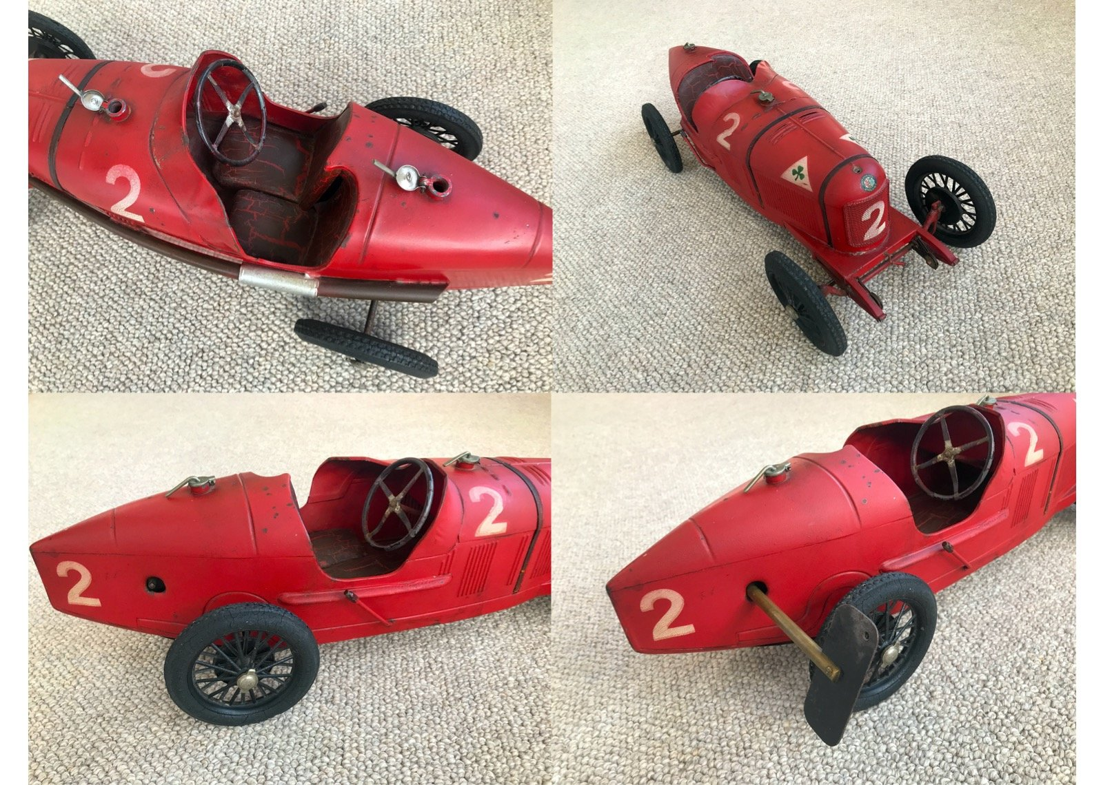 Alfa Romeo P2 toy race car. Born to be a legend For Sale (picture 5 of 6)