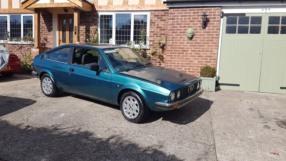 1985 ALFA ROMEO Alfasud Sprint 1.5 Italian Coupe For Sale (picture 1 of 6)