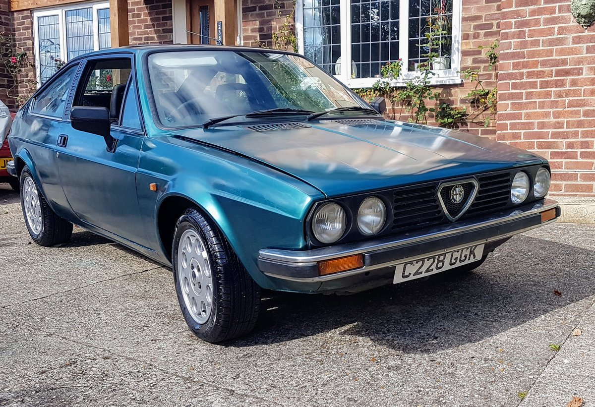 1985 ALFA ROMEO Alfasud Sprint 1.5 Italian Coupe For Sale (picture 2 of 6)