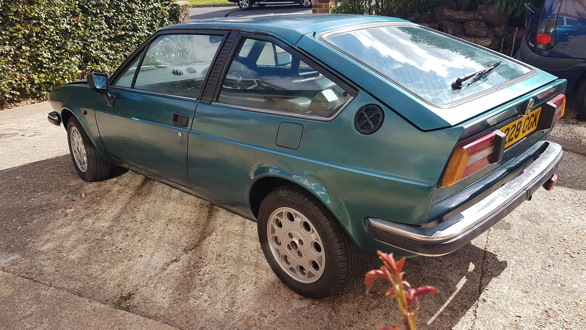1985 ALFA ROMEO Alfasud Sprint 1.5 Italian Coupe For Sale (picture 4 of 6)