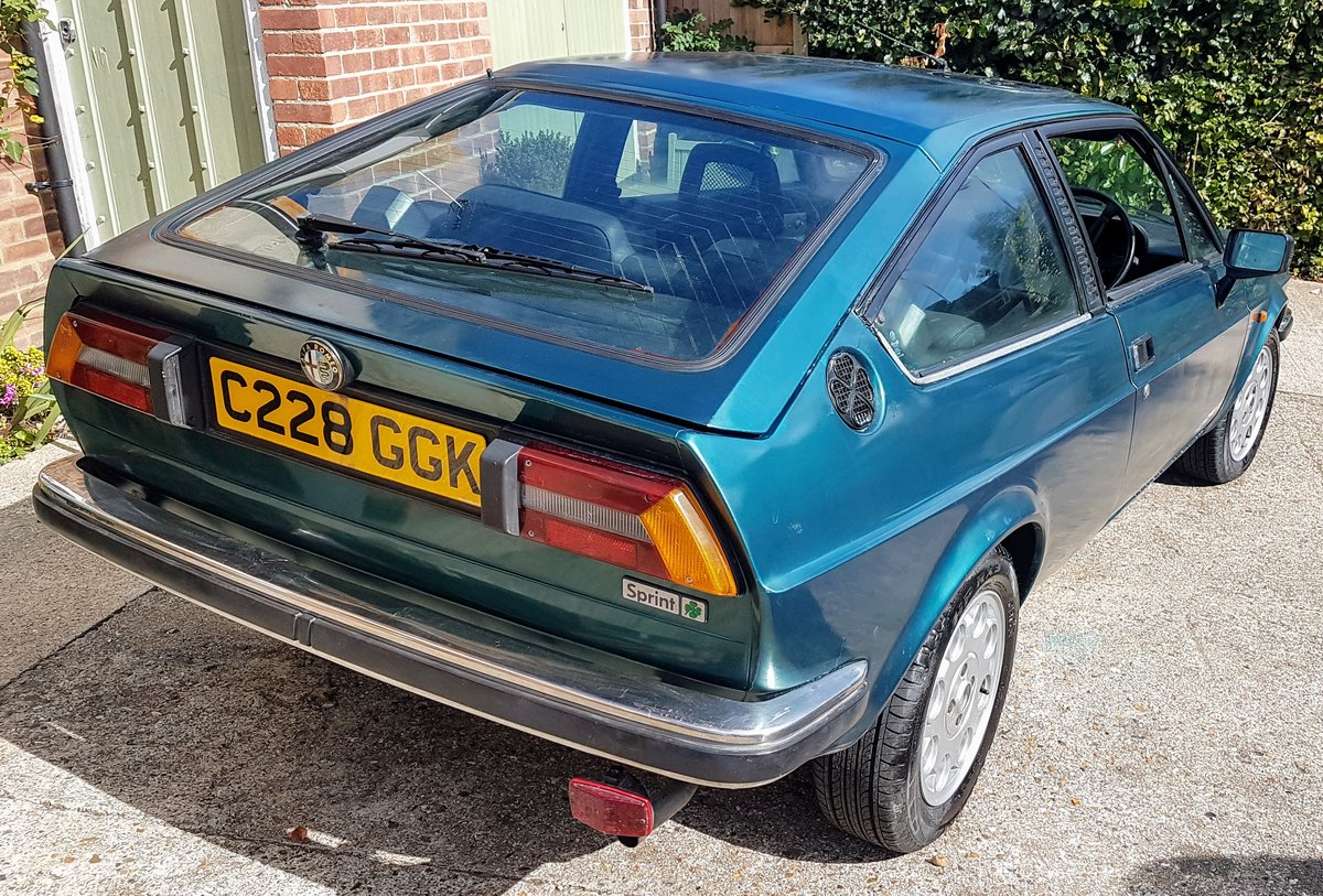 1985 ALFA ROMEO Alfasud Sprint 1.5 Italian Coupe For Sale (picture 5 of 6)