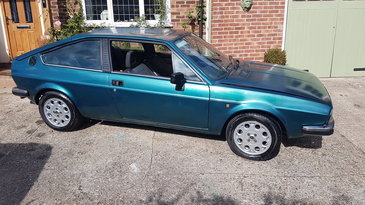 1985 ALFA ROMEO Alfasud Sprint 1.5 Italian Coupe For Sale (picture 6 of 6)