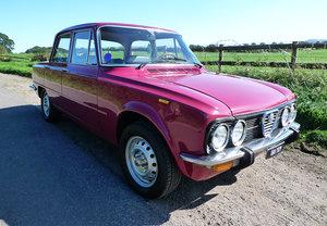 1976 Alfa romeo giulia 1300 super nuova -best available For Sale