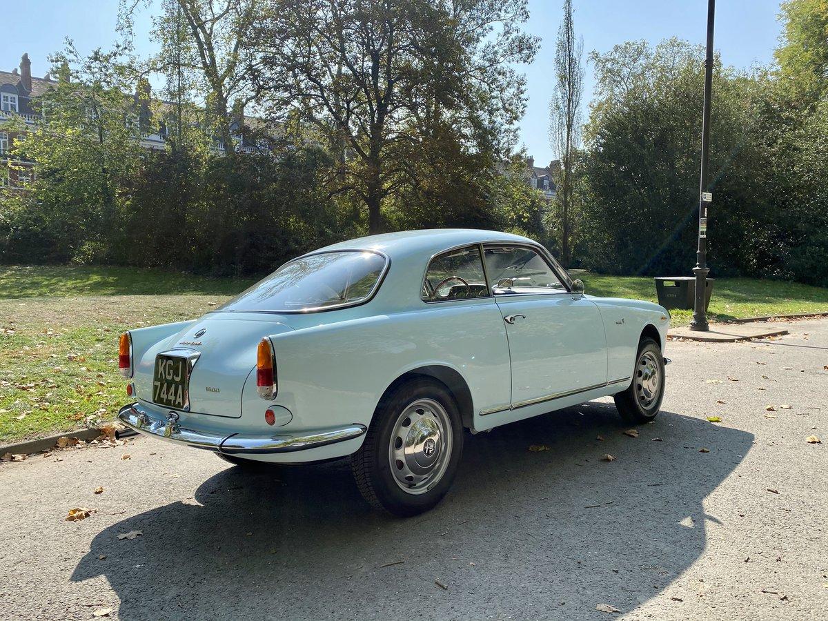 1963 Alfa Romeo 1600 Giulia For Sale (picture 4 of 19)