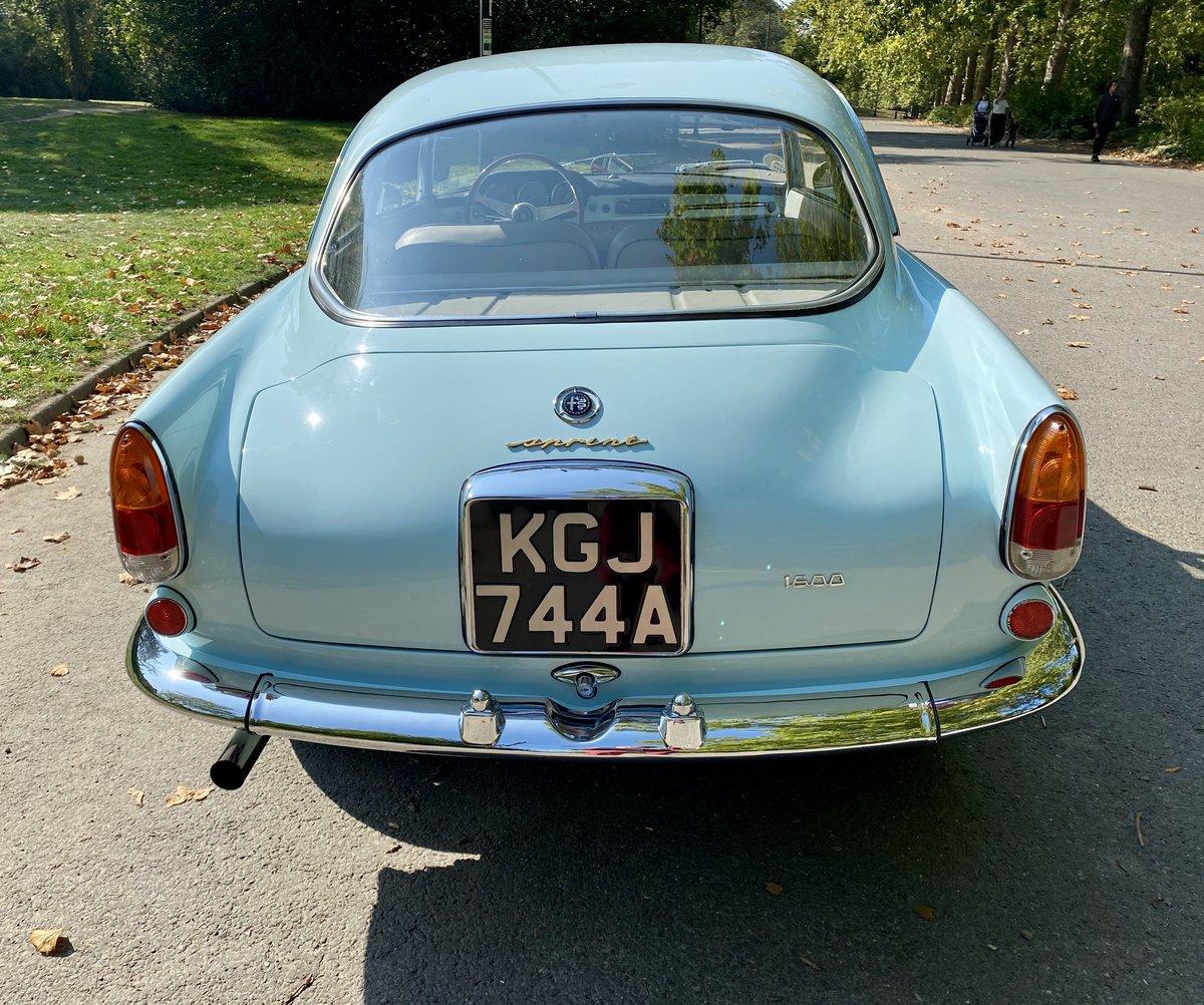 1963 Alfa Romeo 1600 Giulia For Sale (picture 5 of 19)