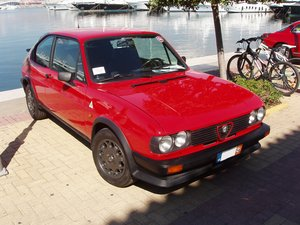 1983 Alfa Romeo Alfasud Ti QV, very original and preserved