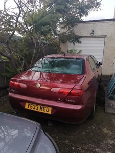 Picture of 2001 Alfa 166 modern classic very few left in the uk.