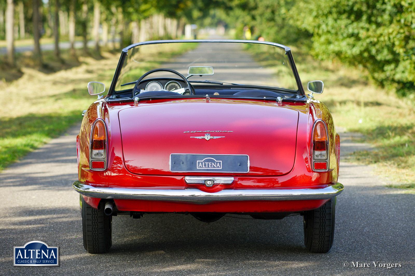 Alfa Romeo 2000 Spider, 1962 For Sale (picture 5 of 6)